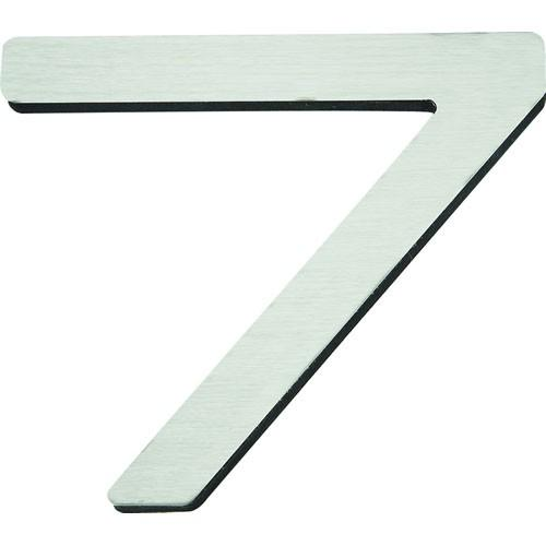 Atlas Homewares AT-PGN7-SS  Paragon - Outside Hardware Stainless Steel House Number - KnobDepot.com
