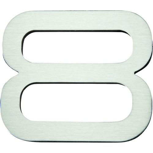 Atlas Homewares AT-PGN8-SS  Paragon - Outside Hardware Stainless Steel House Number - Knob Depot