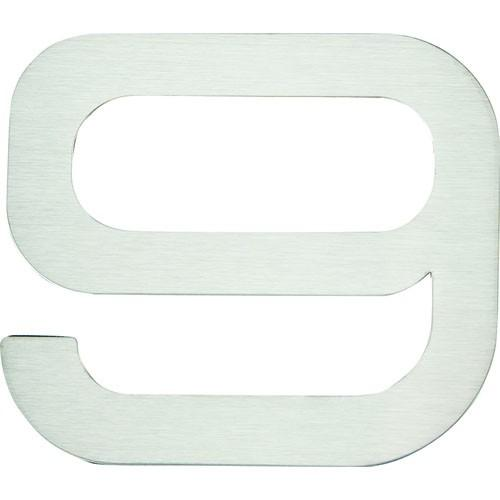 Atlas Homewares AT-PGN9-SS  Paragon - Outside Hardware Stainless Steel House Number - KnobDepot.com