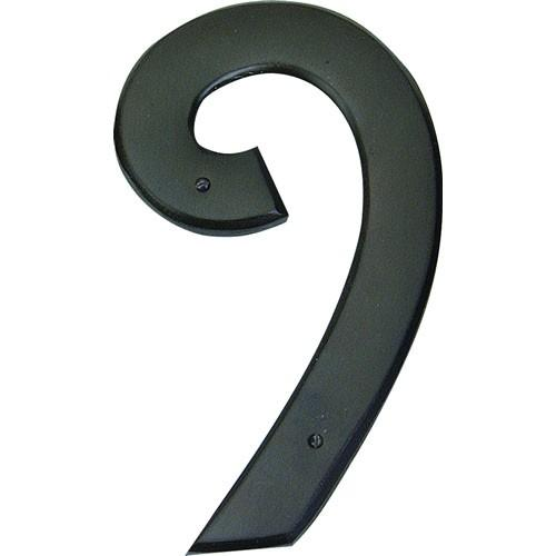 Atlas Homewares AT-RCN9-O  Mission - Outside Hardware Aged Bronze House Number - Knob Depot