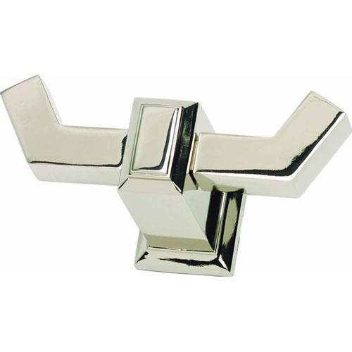 Atlas Homewares AT-SUTTH-PN  Sutton Place - Bath Polished Nickel Hook - KnobDepot.com