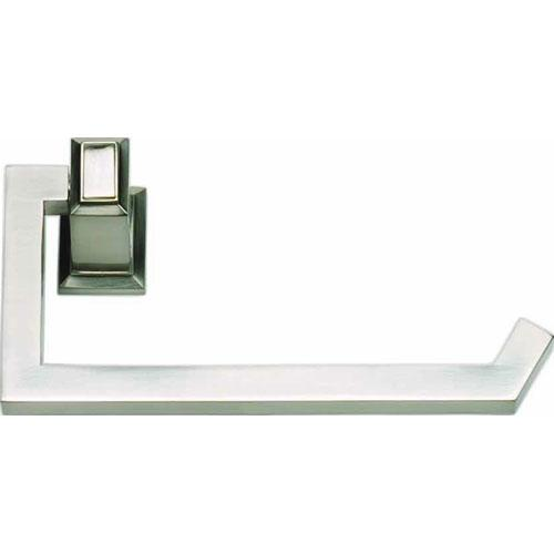 Atlas Homewares AT-SUTTP-BRN  Sutton Place - Bath Brushed Nickel Toilet Tissue Holder - Knob Depot