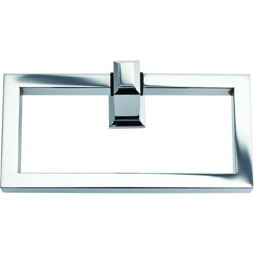 Atlas Homewares AT-SUTTR-CH  Sutton Place - Bath Polished Chrome Towel Ring - KnobDepot.com