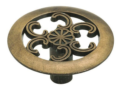 Amerock A-890-ABS Allison Antique Brass Round Knob