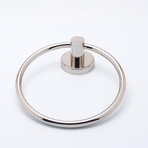 R. Christensen RC-2211US14 Effortless Elegance - Bathroom Polished Nickel Towel Ring - KnobDepot.com