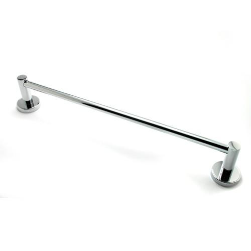 R. Christensen RC-2218US26 Effortless Elegance - Bathroom Polished Chrome Towel Bar - Knob Depot