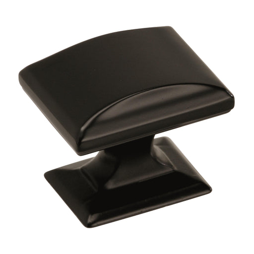 Amerock A-BP29340BBR Candler Black Bronze Rectangle Knob - Knob Depot