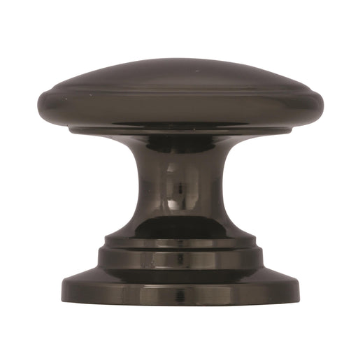 Amerock A-BP53012BN Allison Black Nickel Round Knob - Knob Depot