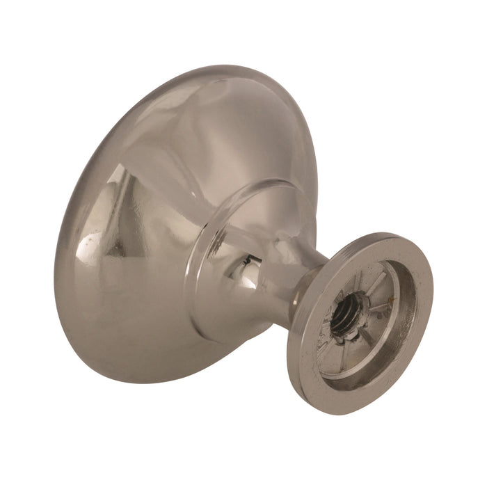 Amerock A-14404-SCH Allison Brushed Chrome Round Knob
