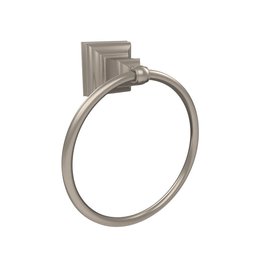 Amerock A-BH26511G10 Markham Brushed Nickel Towel Ring - Knob Depot