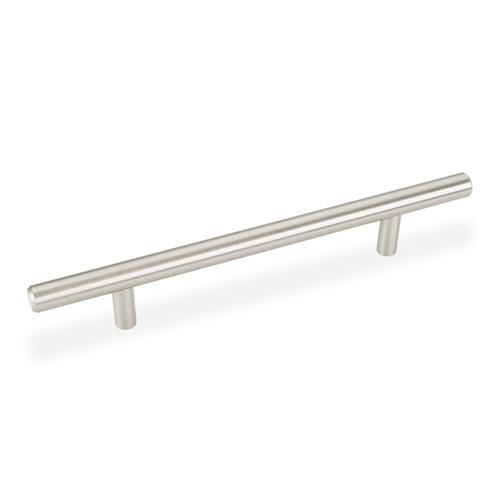 Elements E-206SN Naples Satin Nickel Bar Pull - KnobDepot.com