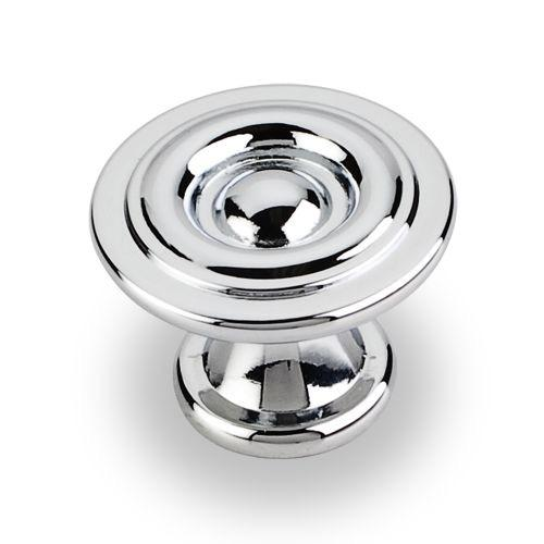 Elements E-575PC Syracuse Polished Chrome Round Knob - KnobDepot.com