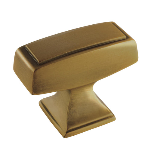 Amerock A-BP53534-2-GB Mulholland Gilded Bronze Large Knob - KnobDepot.com