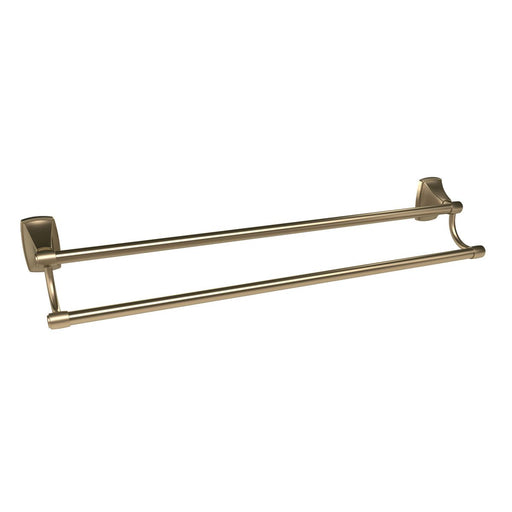 Amerock A-BH26505BBZ Clarendon Golden Champagne Double Towel Bar - Knob Depot