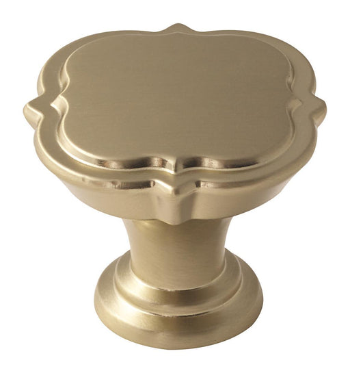 Amerock A-BP36628BBZ Grace Revitalize Golden Champagne Square Knob - Knob Depot