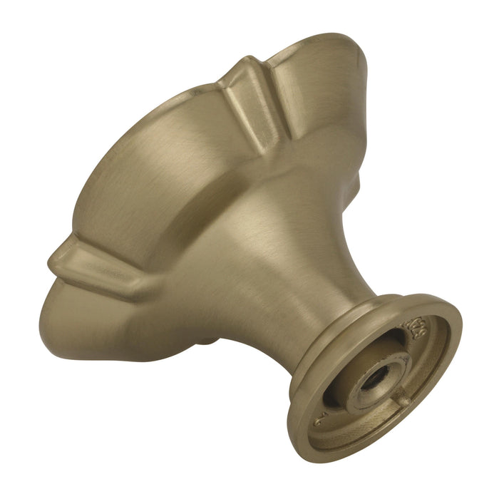 Amerock A-BP36629BBZ Grace Revitalize Golden Champagne Square Knob - Knob Depot