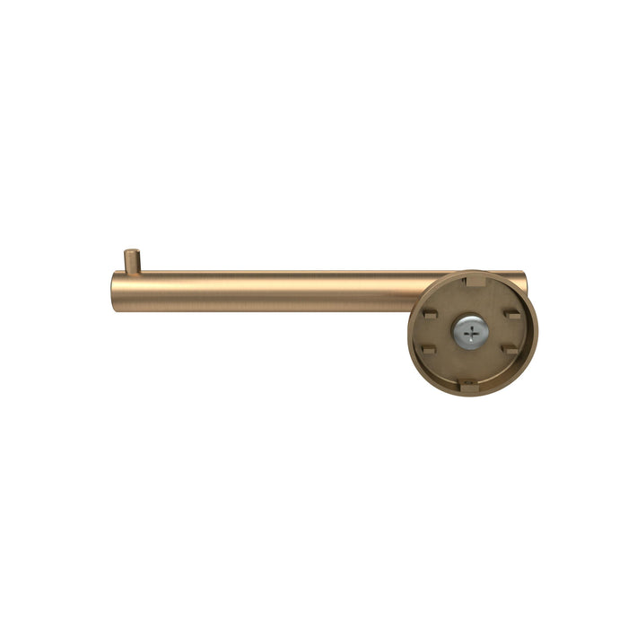Amerock A-BH26540-BBZ Arrondi - Bathroom Brushed Bronze Toilet Tissue Holder - Knob Depot