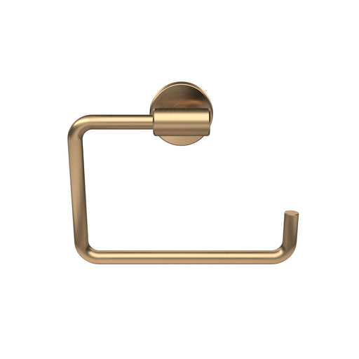 Amerock A-BH26541-BBZ Arrondi - Bathroom Brushed Bronze Towel Ring - Knob Depot