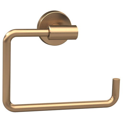 Amerock A-BH26541BBZ Arrondi - Bathroom Brushed Bronze Towel Ring - Knob Depot
