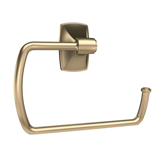 Amerock A-BH26501BBZ Clarendon Golden Champagne Towel Ring - Knob Depot
