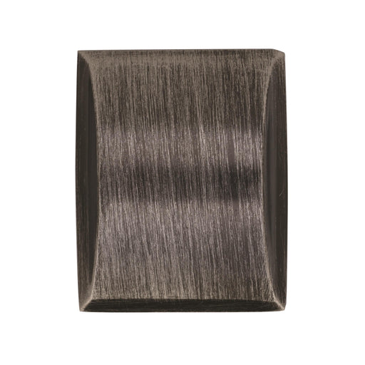 Amerock A-BP29340GM Candler Gunmetal Rectangle Knob