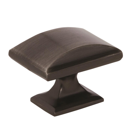 Amerock A-BP29368GM Candler Gunmetal Rectangle Knob