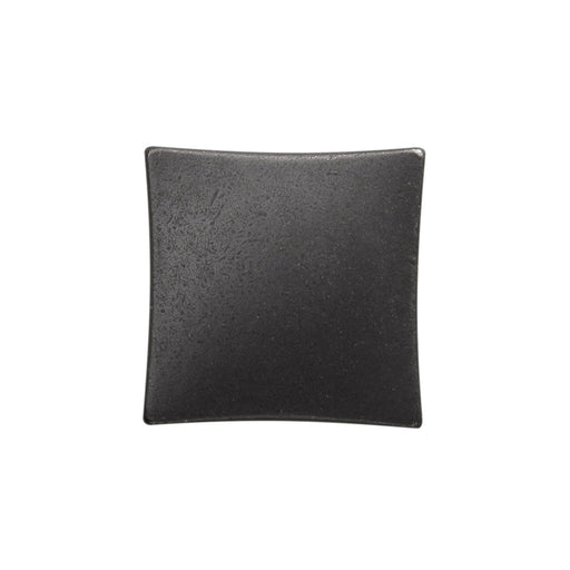 Hickory Hardware H-H076014-BI Contemporary/Twist Black Iron Square Knob - KnobDepot.com