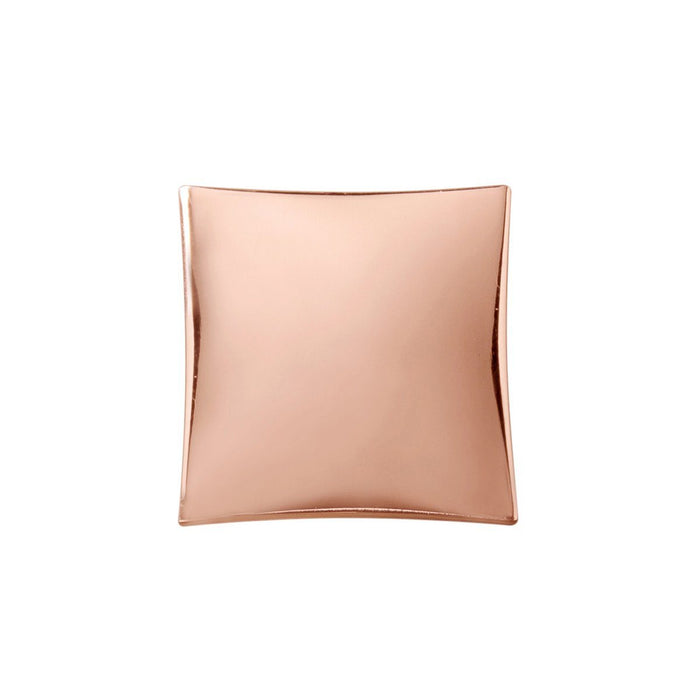 Hickory Hardware H-H076014-CP Contemporary/Twist Polished Copper Square Knob - KnobDepot.com
