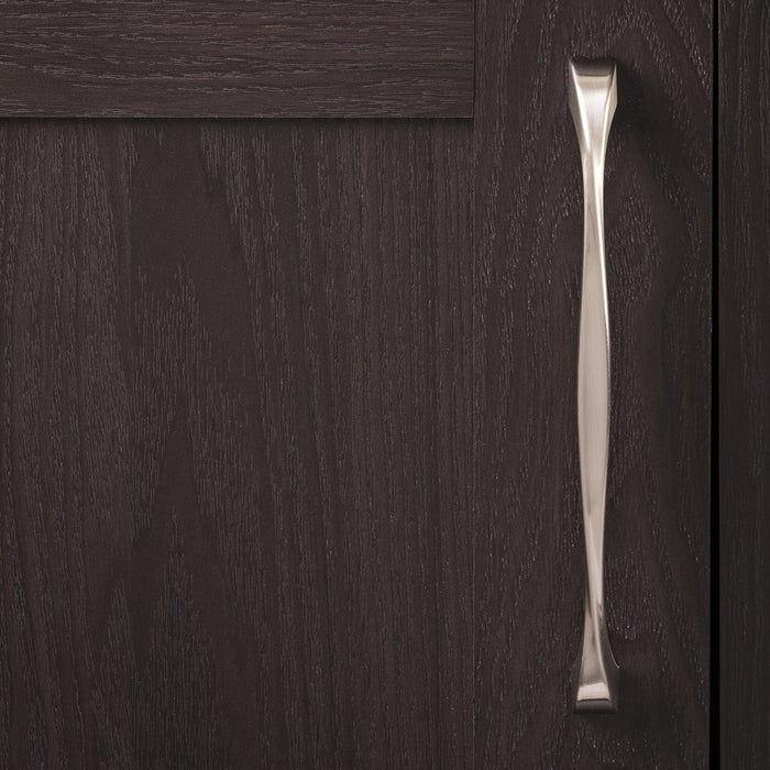 Hickory Hardware H-H076019-SN Contemporary/Twist Satin Nickel D-Pull - Knob Depot