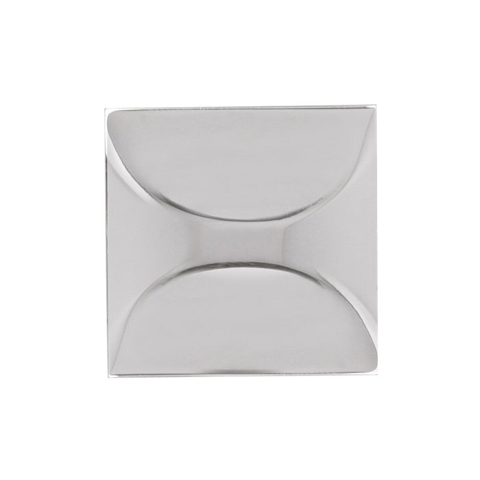 Hickory Hardware H-H076127-CH Contemporary/Crest Chrome Square Knob - Knob Depot