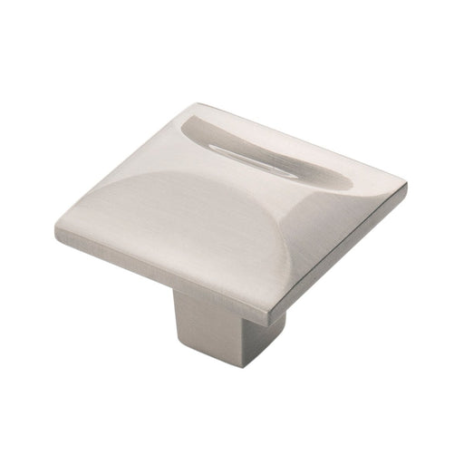 Hickory Hardware H-H076127-SN Contemporary/Crest Satin Nickel Square Knob