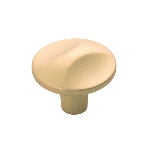 Hickory Hardware H-H076128-FUB Contemporary/Crest Flat Ultra Brass Round Knob