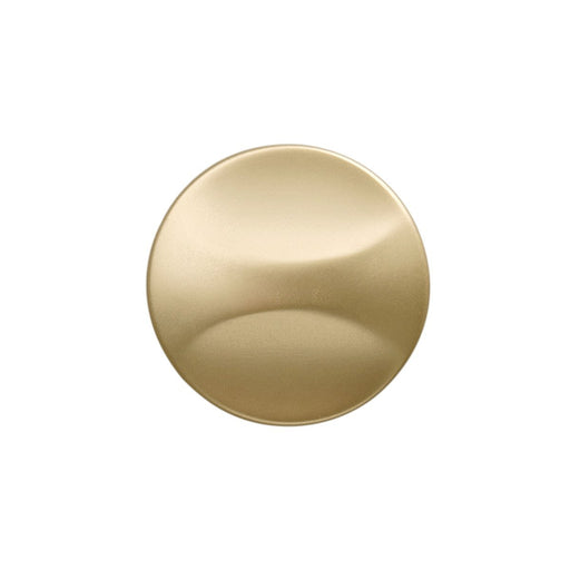 Hickory Hardware H-H076128-FUB Contemporary/Crest Flat Ultra Brass Round Knob - Knob Depot
