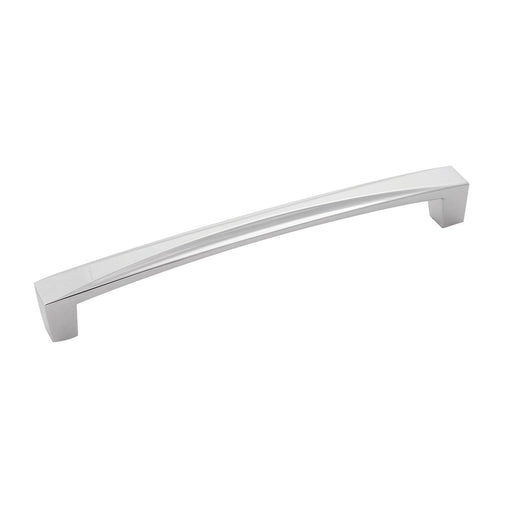 Hickory Hardware H-H076132-CH Contemporary/Crest Chrome D-Pull - Knob Depot