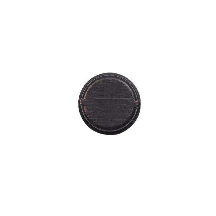 Hickory Hardware H-HH075028-VB Casual/Pipeline Vintage Bronze Round Knob - Knob Depot