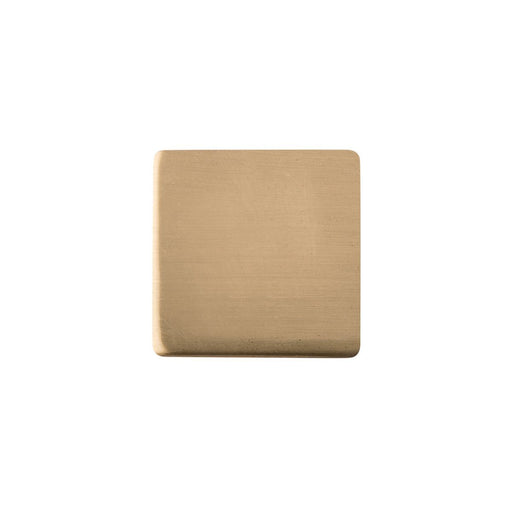 Hickory Hardware H-HH075341-EGN Contemporary/Skylight Elusive Golden Nickel Square Knob - Knob Depot