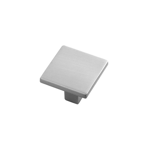 Hickory Hardware H-HH075341-SS Contemporary/Skylight Stainless Steel Square Knob - Knob Depot