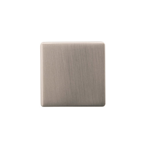 Hickory Hardware H-HH075341-SS Contemporary/Skylight Stainless Steel Square Knob - KnobDepot.com