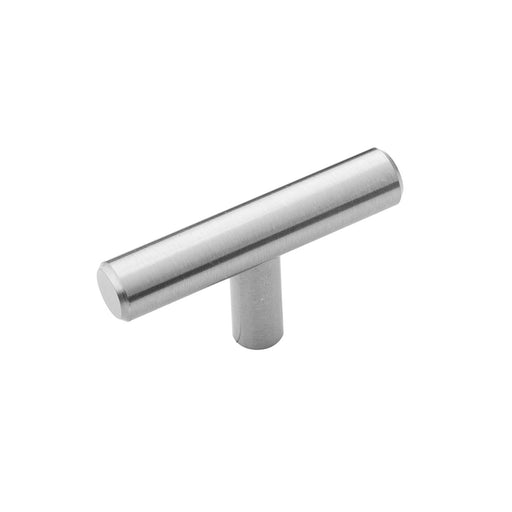 Hickory Hardware H-HH075591-SS Contemporary/Bar Pull Stainless Steel T-Knob - KnobDepot.com