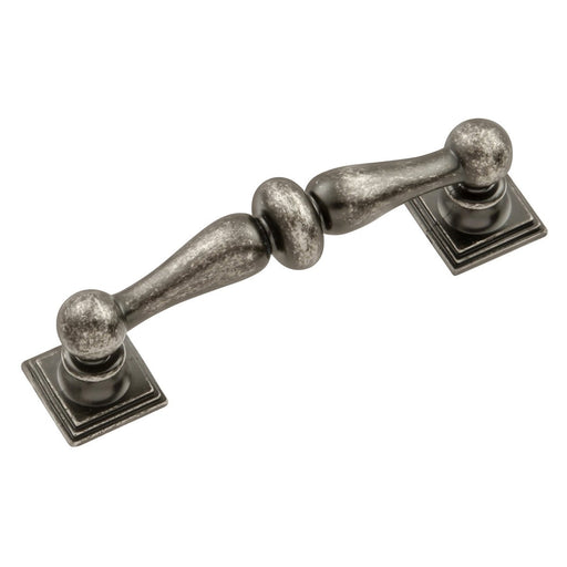 Hickory Hardware H-HH74549-BNV Traditional/Somerset Black Nickel Vibed Standard Pull - KnobDepot.com