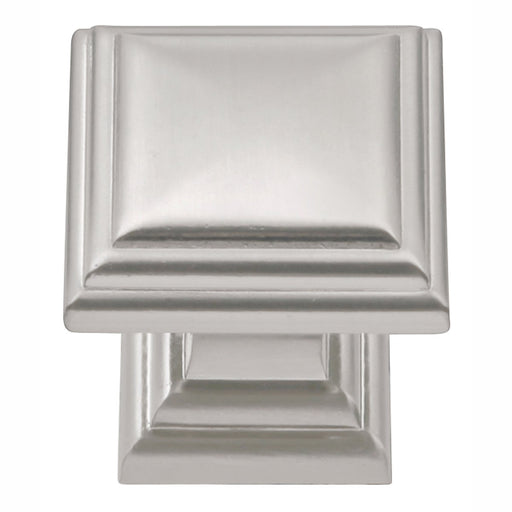 Hickory Hardware H-HH74554-SN Traditional/Somerset Satin Nickel Square Knob