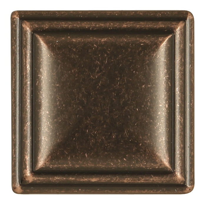 Hickory Hardware H-HH74639-DAC Traditional/Somerset Dark Antique Copper Square Knob