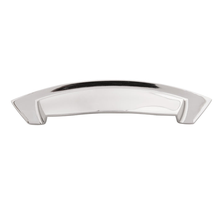 Hickory Hardware H-HH74642-14 Contemporary/Velocity Polished Nickel D-Pull - Knob Depot