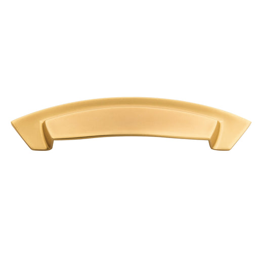 Hickory Hardware H-HH74642-FUB Contemporary/Velocity Flat Ultra Brass D-Pull - KnobDepot.com