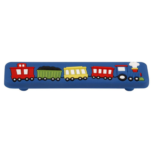 Hickory Hardware H-HH74647-ZZ Casual/Kids Corner Multi-Colored Train Pull - Knob Depot