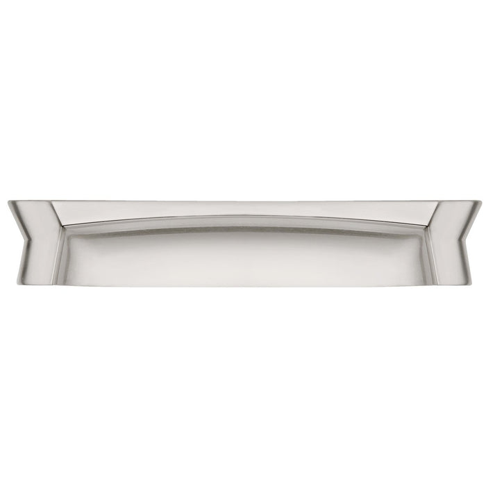 Hickory Hardware H-HH74671-SN Contemporary/Wisteria Satin Nickel Cup Pull - Knob Depot