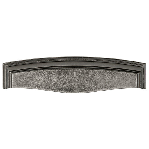 Hickory Hardware H-HH74673-BNV Traditional/Somerset Black Nickel Vibed Cup Pull - KnobDepot.com