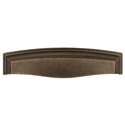 Hickory Hardware H-HH74673-DAC Traditional/Somerset Dark Antique Copper Cup Pull - KnobDepot.com