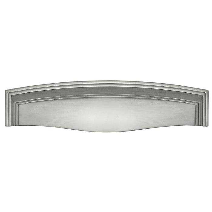 Hickory Hardware H-HH74673-SN Traditional/Somerset Satin Nickel Cup Pull - Knob Depot