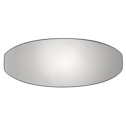Hickory Hardware H-HH74674-14 Contemporary/Wisteria Polished Nickel Oval Knob - KnobDepot.com